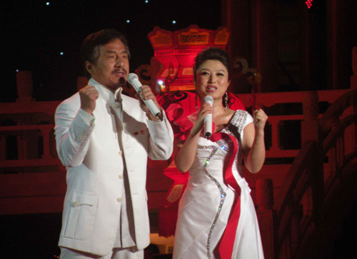 【图】2009中秋晚会凸显中国风 成龙与刘媛媛