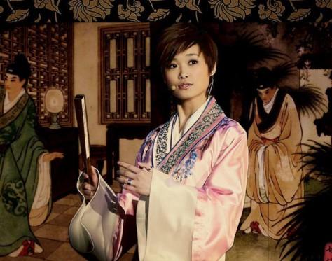 蜀绣李宇春演绎中国风 唯美歌词表现蜀绣的魅力